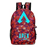 yuhiugre Unisex School Backpack,APEX Legends Canvas Rucksack Laptop Book Bag Satchel Hiking Bag, Plenty of Storage Bag fit School, Travel, Outdoors(APEX Legends-4)