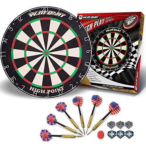 WIN.MAX Bristle Steel Dartboard