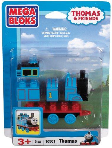 Mega Bloks 10501 - Thomas Lokomotive einzeln (Lego Thomas)
