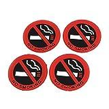 sourcing map Rauchen Silikon Achtung Symbol Schild f? Auto Symbol Marke