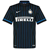 Nike 2014–2015Inter Milan Home Football Shirt Small Multi-Coloured - Black Blue