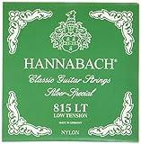 Hannabach 652517 Serie 815 - Cuerda de guitarra (tensión baja), color plateado