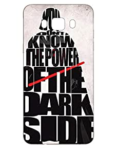 Samsung J7 2016 Back Cover - Dark Vader - Designer Printed Hard Shell Case