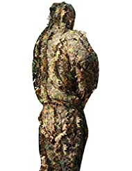 ysayc camuflaje Suit Pate Masquerade Servicio Militar exterior bosque bosque camping seguridad protección camuflaje Suit