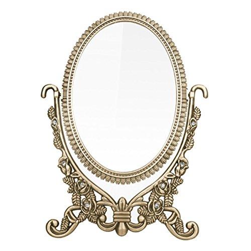 dproptel 360grado dos cara Vintage Retro de cosméticos espejo decor