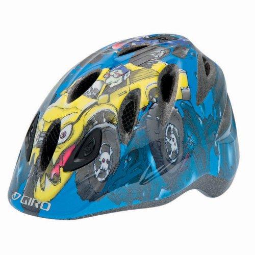 Giro Kinderfahrradhelm Spree Kleinkind Helm, Blue Monster Trucks (Monster Trucks Für Kleinkinder)