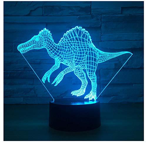 Nachtlicht NachttischLampe Drache 3D Lampe Neuheit 3D Leuchten Weihnachtsschmuck Geschenk Für Babyzimmer Led Nachtlicht -