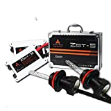 Kit de Conversion HID, AFTERPARTZ® Zeit-5 55W 6000K Xenon Feux Ampoule Lampe Headlight Bulb Pour Auto Voiture (H13 9008 H/L)