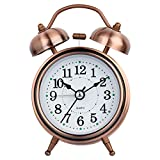 #3: Changda Efinito Gifts Twin Bell Table Alarm Clock With Night Led Display , 5 Inches