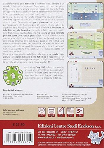 Imparare le tabelline con il metodo analogico. CD-ROM (Software didattico)