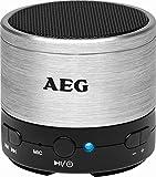 Bluetooth Lautsprecher mit USB + AUX-IN + Akku Box Soundsystem Lautsprecherboxen Boxen (kabellos + Farbe: silber/schwarz)