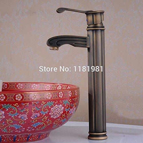 Ceran Top (U-Enjoy Badezimmer-Hahn-Antike Top-Qualität Bronze Messing-Hahn Home Bad Küche Mit Ceran-S Para [Kostenloser Versand])