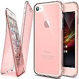 iPhone 8 Hülle,iPhone 7 Hülle,SainCat TPU Silikon Hülle Tasche Handyhülle Weiß 360 Grad Full...