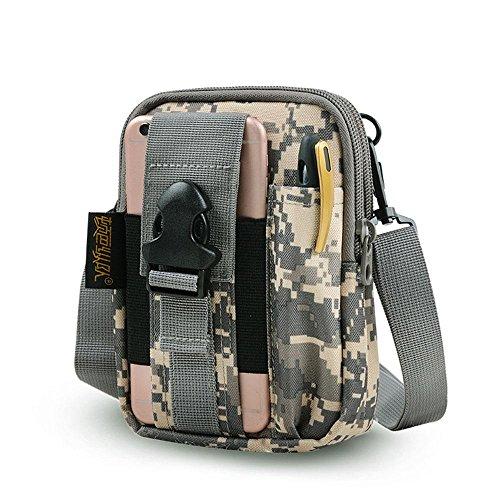 BUSL Escursione fanny imballa sacchetto esterno borsa a tracolla uomini e donne multifunzione telefoni cellulari tasche a marsupio . d f