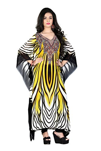 High Street Fashion Style Women's Poly Georgette kaftan