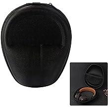 XCSOURCE® Universal Hard EVA auriculares bolsa bolsa de viaje (negro) para AKG, Sennheiser, Audio Technica Headset TH718