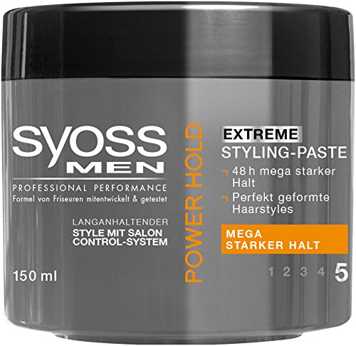 Syoss MEN Power Paste, 6er Pack (6 x 150 ml)
