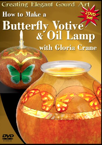 Preisvergleich Produktbild How to Make a Butterfly Votive and Oil Lamp