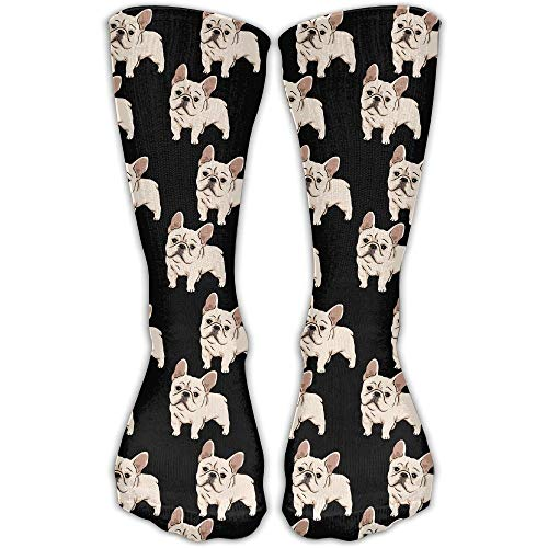 French Bulldog Unisex Novelty Crew Socks Ankle Dress Socks Fits Shoe Size 6-10 (Fahrer Mutterschaft)