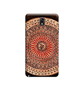 Ebby Premium 3d Desinger Printed Back Case Cover For Samsung Note 3 (Premium Desinger Case)