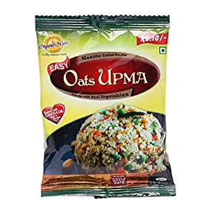 OrganoNutri Porridge - Oats UPMA - 10 Packs