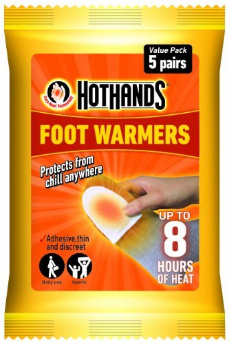 Instant Hand Warmers (Hot Hands Single Use Instant Foot Warmers Value Pack of 5 pairs by HotHands)