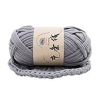 Jiacheng29 Hand-knit Woven Thread Fancy Yarn for DIY Basket Blanket Braided Crochet Cloth