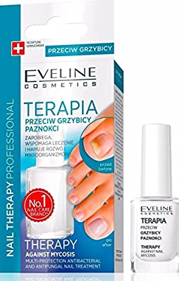 Eveline nail polish for nail fungus; feet and hands, mycosis, 12 ml