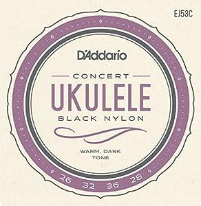 D'Addario EJ53S Hawaiian-Concert Pro-Arte Rectified Ukulele Strings_p