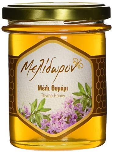 Melidoron Roher Griechischer Thymian Honig, 1 Pack (250 g) (Griechischer Reiner Honig)