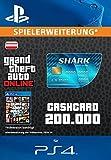Grand Theft Auto Online | GTA V Tiger Shark Cash Card | 200,000 GTA-Dollars | PS4 Download Code - österreichisches Konto