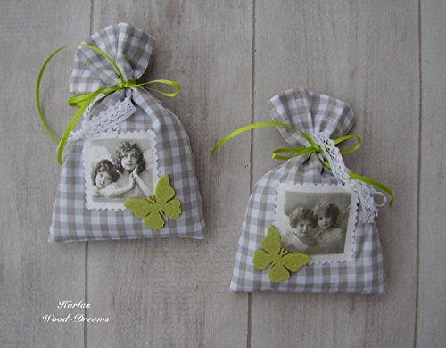 Lavendelsäckchen Set, Landhaus, Romantikdeko, Muttertag