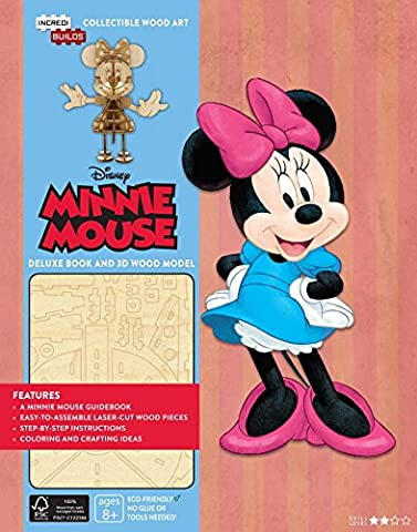 INCREDIBUILDS MINNIE MOUSE DLX MODEL W BOOK