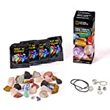 Rough Gemstone Refill Kit for Rock Tumbler by National Geographic hergestellt von Discover with Dr. Cool