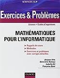 Mathématiques pour l'informatique - Exercices & Problèmes