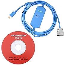 Cable de Programación PLC de 3 Metros de Omron con Interfaz USB CPM1 / 2A /