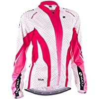 Nuckily Women s Winter Bicycle Jersey Full Zipper Quick Dry Long Sleeve  Cycle Jacket 40f3a241a