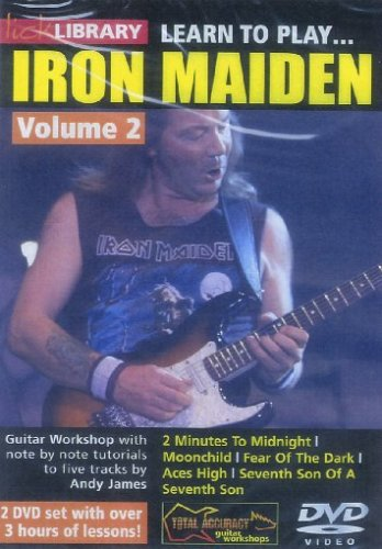 Learn to play Iron Maiden Volume 2 [Edizione: Germania]