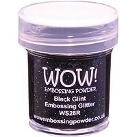 Wow Embossing Powder 15ml-Black Glint