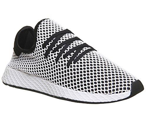 adidas Herren Deerupt Runner Gymnastikschuhe  44 EUSchwarz (Core Black/Core Black/Ftwr White)