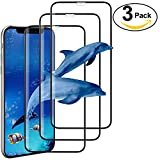 ivencase 5D Verre Trempé pour iPhone X, [9H](0.56mm) Film Protection en écran Protecteur iPhone X Vitre Ultra Résistant Dureté Glass Screen Protector