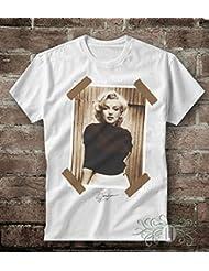 T-shirt uomo-donna MARILYN MONROE