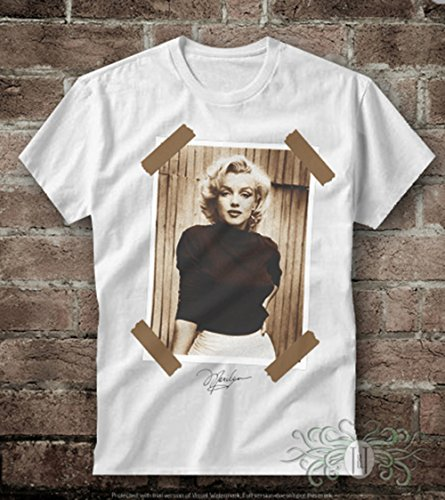 T-shirt uomo-marylin monroe