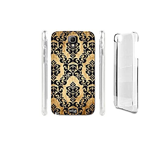 CASELABDESIGNS HARD BACK CASE COVER EFFETTO LEGNO TRAMA WALL FOR SAMSUNG GALAXY NOTE 3 III NEO LTE SM-N7505 - BODY IN HARD MATERIAL PROTECTIVE SHOCK