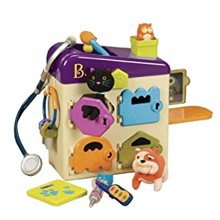 B. toys by Battat - B. Pet Vet Toy - Doctor Kit for Kids Pretend Play (8 pieces) (B00IZDL3CS)   Amazon Products