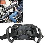 knowledgi MotoCintura di Sicurezza,Impugnatura in Grado di Indossare Come Cintura renale per ATV Superbike Moto Motobike Bicicletta Motoslitta