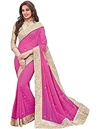 Sarees(DIYA Fashion New Disigner A Georgette Party Wear Saree With Blouse Piece , Bollywood Designer Saree, Latest...