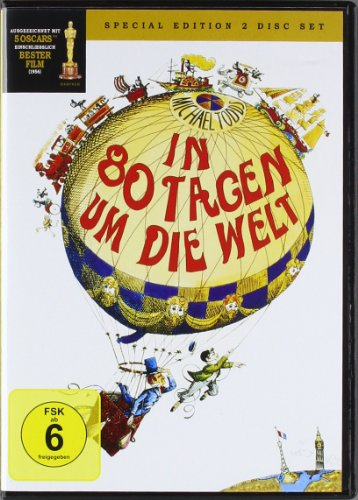 In 80 Tagen um die Welt [Special Edition] [2 DVDs] (Hollywood Kostüme London)