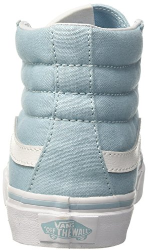 Vans Ua Sk8-Hi Slim, Sneakers Hautes Femme Bleu (Crystal Blue/true White)