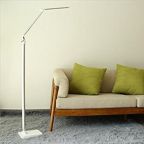 Moderne Créative Foldable Réglable Télécommande Protection oculaire LED Lampadaire Living